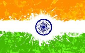 Picture flag, india, republicday