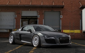 Picture audi, tuning, gray, r8