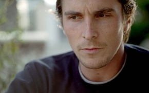Picture look, reverie, actor, Christian Bale, Christian Bale