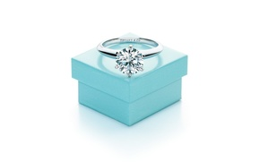 Picture style, box, ring, decoration, wedding, Tiffani& Co