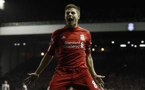 Picture football, England, Liverpool, Steven Gerrard, steven gerrard, premier league, liverpool, barclays, Premier League