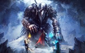 Picture game, MAG, knight, Goblin Menace, Trine 2