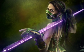Picture look, the game, art, costume, Mortal Kombat, Jade, Jade