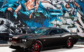 Picture Dodge, challenger, 392, hemi, graphitty