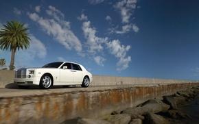 Wallpaper Stones, The sky, Rolls-Royce Phantom, Palma
