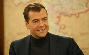 Picture smile, President, Dmitry Anatolyevich Medvedev