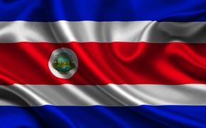 Picture flag, Costa Rica, costa rica