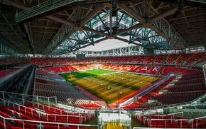 Picture field, lawn, Football, Stadium, Spartacus, Spartak, Open Arena