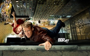 Picture the series, Human target, Human target