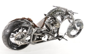 Picture design, style, background, engine, motorcycle, form, airbrushing, bike