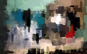 Picture abstraction, style, background, picture
