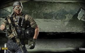 Picture gun, logo, game, weapon, war, man, black ops, pose, rifle, warrior, Weapon, gloves, pearls, powerful, …