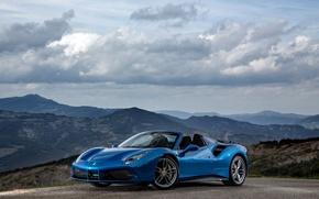 Picture Ferrari, convertible, Ferrari, spider, Spider, 488