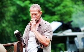 Picture The Walking Dead, The walking dead, Michael Rooker, Michael Rooker