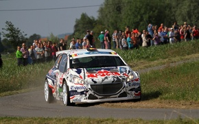 Picture Turn, Peugeot, Rally, 208, T16, ERC