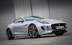 Picture Jaguar, garage, Parking, F-Type S, Coupe AWD