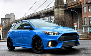 Picture ford, blue, focus, 2015