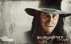 Picture actor, Western, The Lone Ranger, The lone Ranger, William Fichtner, Butch Cavendish