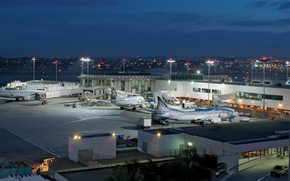 Picture city, the city, USA, Los Angeles, California, LAX