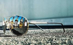 Picture road, asphalt, Situation, the sidewalk, sunglasses