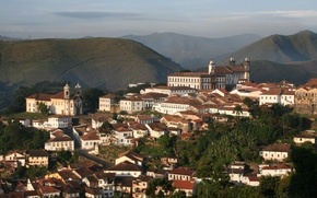 Picture Ouro Preto, Brasil, Church, Moutain, Brazil