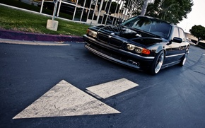 Picture road, tuning, drives, Boomer, seven, e38, bumer, bmw 740