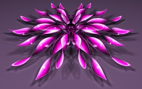 Wallpaper flower, background, ball, petals