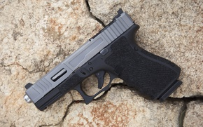 Wallpaper Mk 2, gun, Glock 19, background