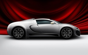 Wallpaper auto, red, Concept from Bugatti, Cape