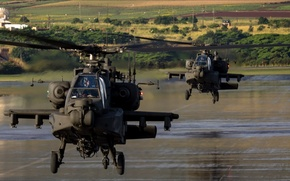 Picture USA, control, Hawaii, two, aviation, helicopters