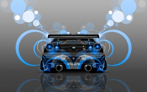Picture Color, Blue, Style, Nissan, Wallpaper, GTR, Blue, Nissan, Abstract, Blue, Photoshop, Photoshop, Abstract, Style, Skyline, ...
