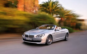 Picture Auto, BMW, Convertible, Grey, BMW, Coupe, 6 Series, In Motion