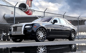 Picture wheels, Rolls Royce, Ghost, with, Forgiato