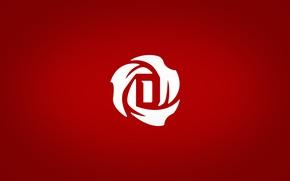 Picture red, logo, logo, NBA, Derrick Rose, D Rose wallpaper, Of Pink