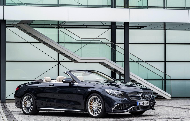 Photo wallpaper Mercedes-Benz, convertible, Mercedes, AMG, Cabriolet, S-Class, A217