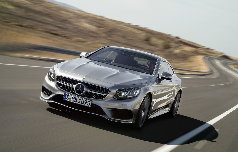 Photo wallpaper Mercedes-Benz, Coupe, S-Class