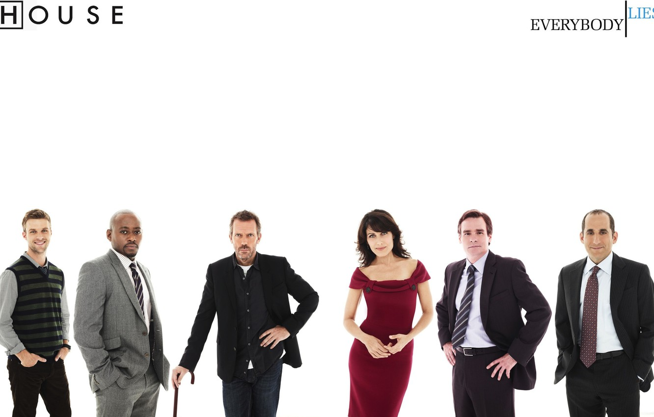 Wallpaper House Md Dr House Lisa Cuddy Forman Gregory
