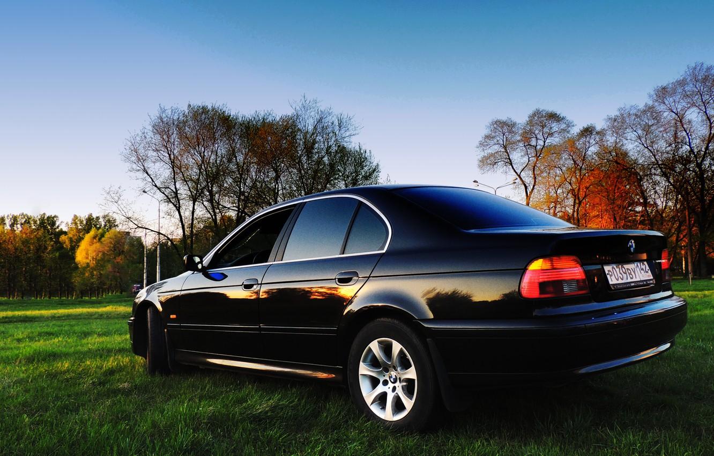Photo wallpaper BMW, Sedan, 5 series, Boomer, 525