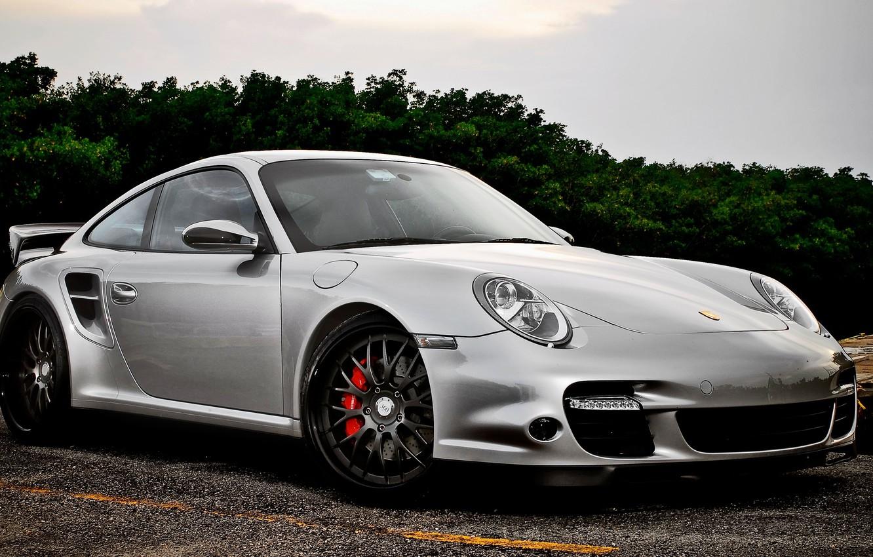 Photo wallpaper Porsche, Sport, Machine, Car, Porsche, Car, Beautiful, Wallpapers, Tuning, Beautiful, Wallpaper, Kar, Silver, 977, 360Forged
