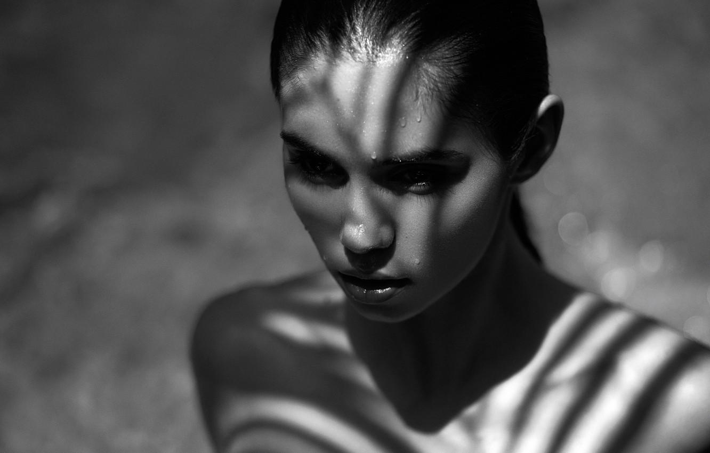 Photo wallpaper portrait, Daniel Ilinca, Aisen, Shadow Play