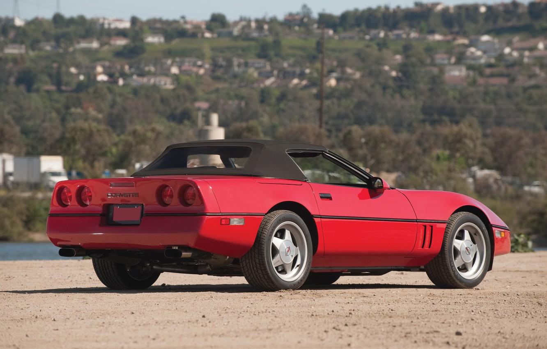 Photo wallpaper Chevrolet, convertible, Chevrolet, Corvette, Twin Turbo, Corvette c4