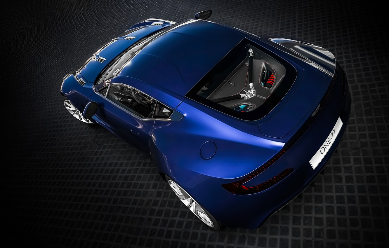 Photo wallpaper Blue, Aston, Martin, One-77, Gran Turismo 6