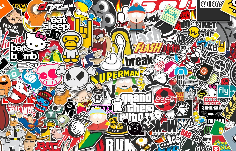 Photo wallpaper Style, JDM, Stickers, Stikers