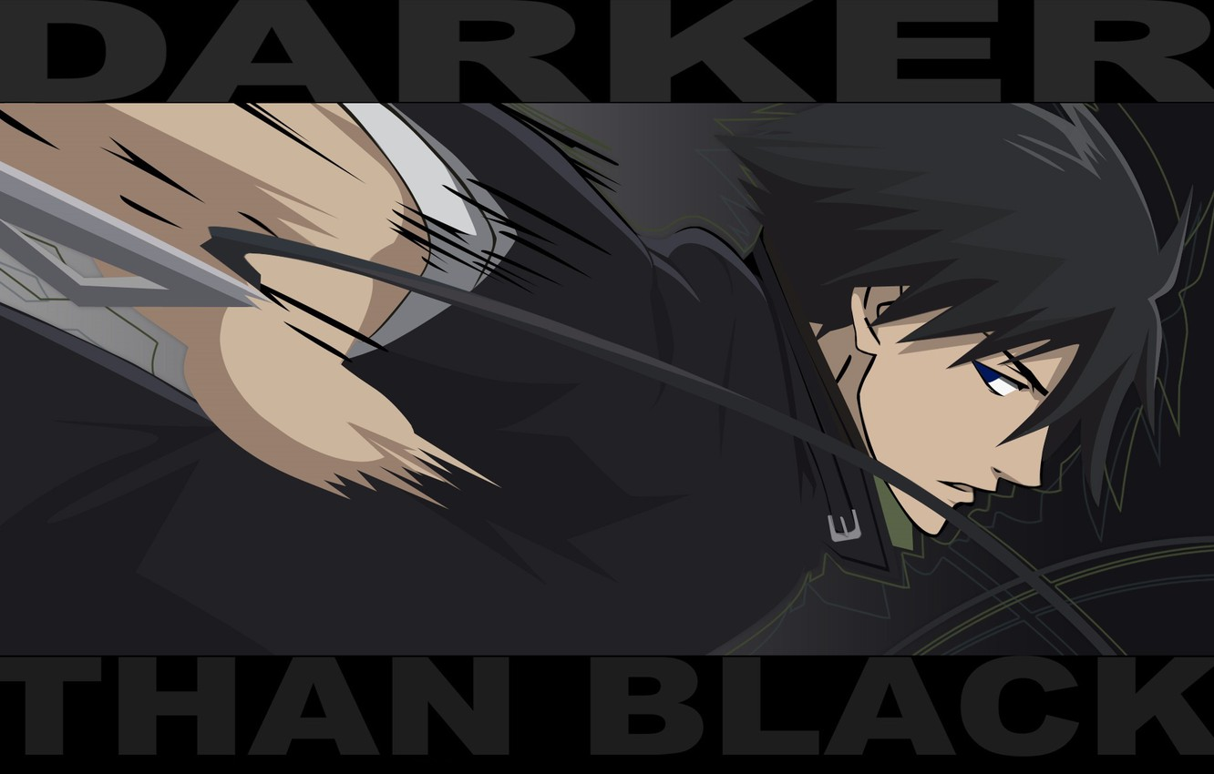 Wallpaper Attack Black Blow Cloak Art Darker Than Black Hei