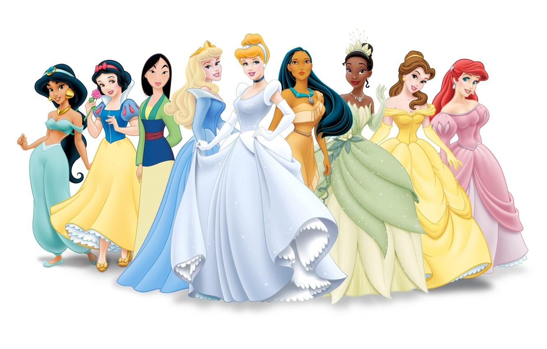 Photo wallpaper figure, characters, disney, disney, Princess