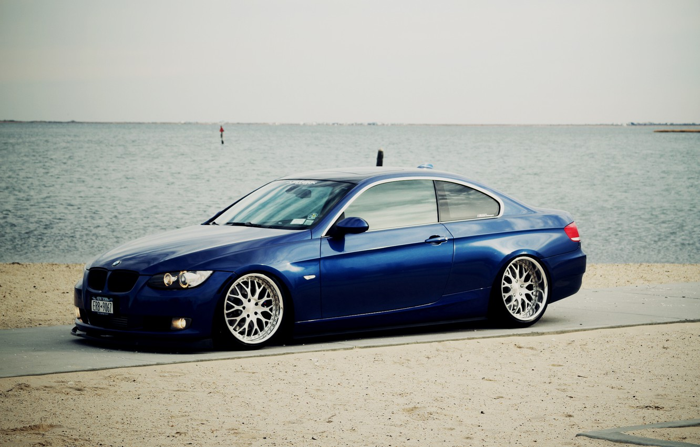 Photo wallpaper BMW, Tuning, BMW, Drives, Coupe, E92, Coupe, Side, E92