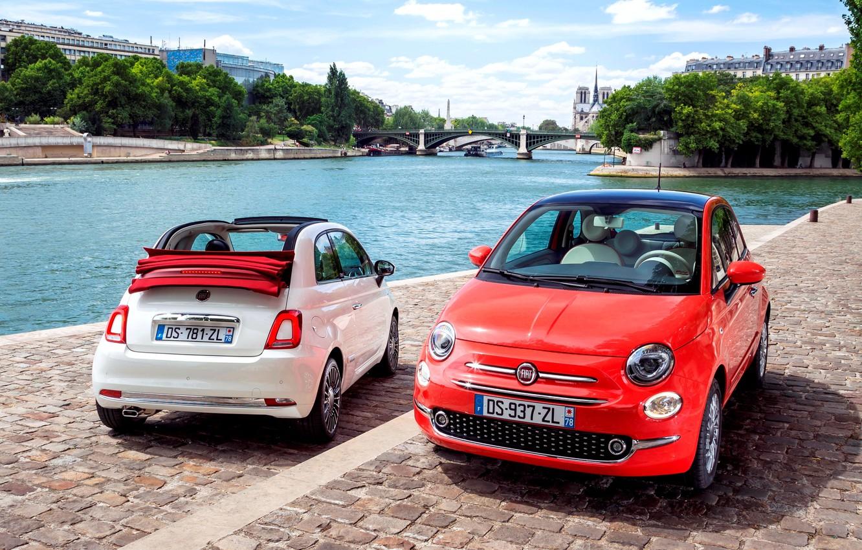 Photo wallpaper Fiat, Fiat, 2015, 500C