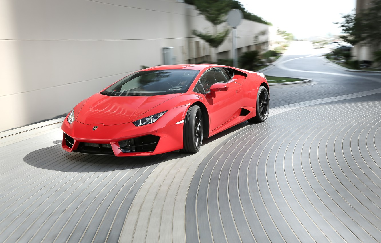 Photo wallpaper Lamborghini, Lamborghini, Huracan, hurakan, LP 580-2