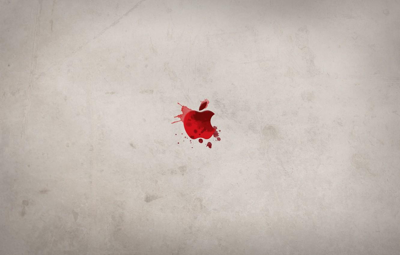 Photo wallpaper squirt, blood, apple, spot, dexter, deviantart, WhoIsScott