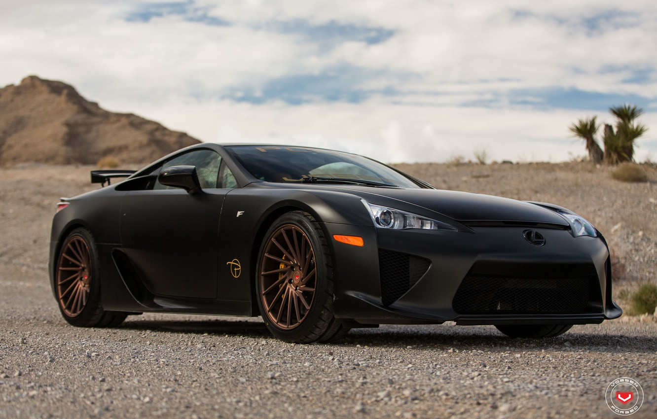 Photo wallpaper Lexus, Forged, Series, Vossen, LFA, Precision